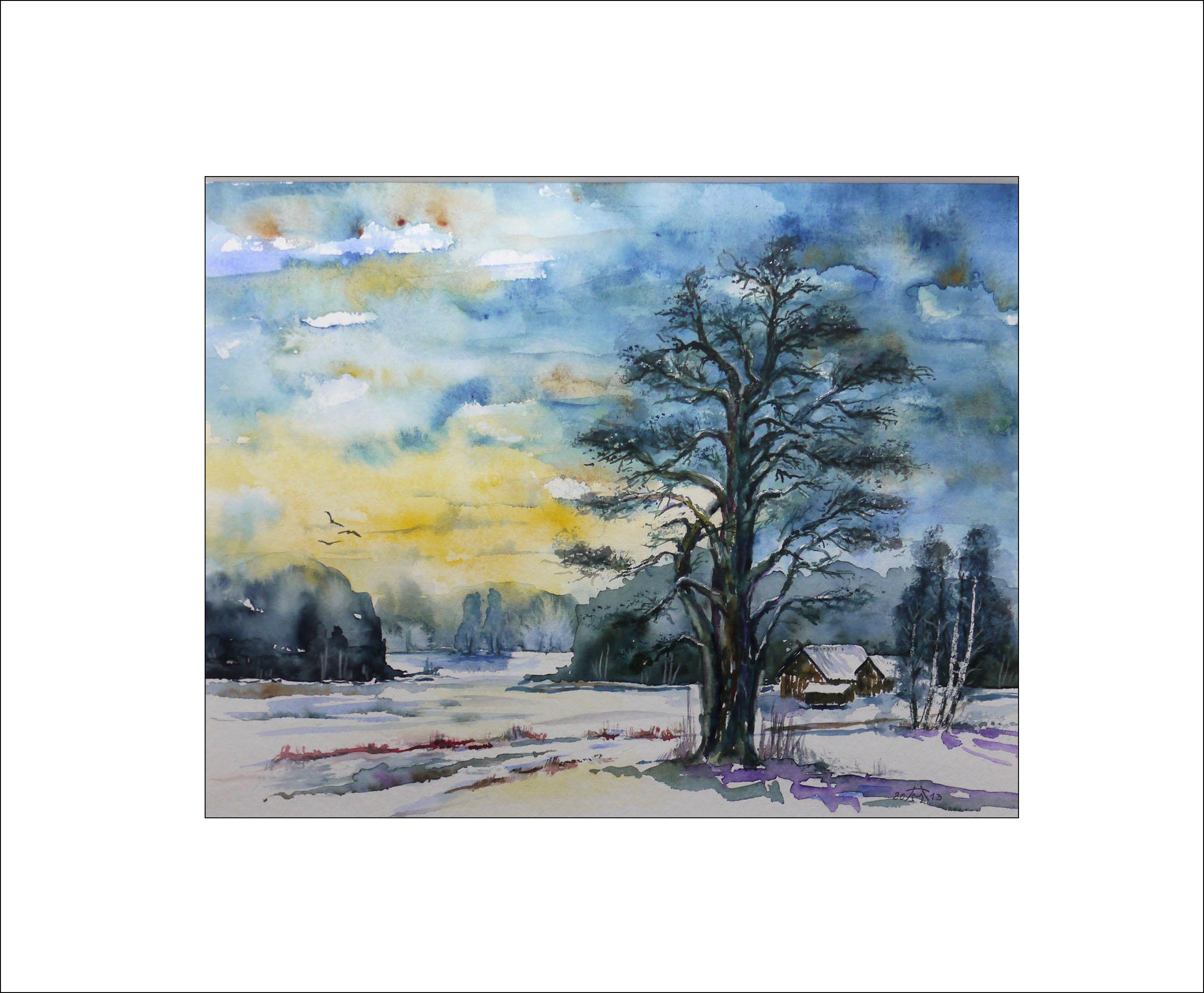 Winter – 40 x 50 cm (Nr. 56)