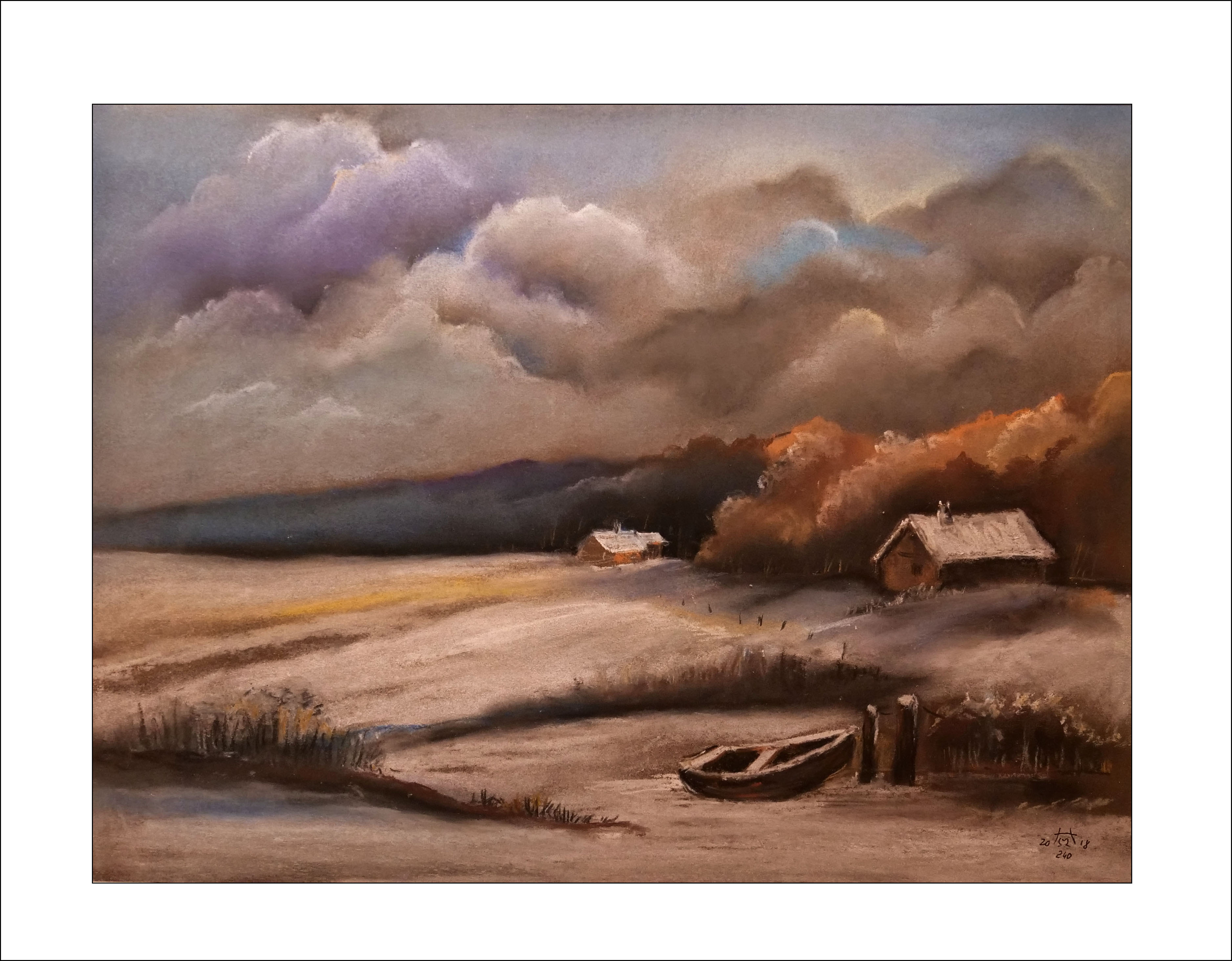 Nr. 241 Winterruhe40 x 50 cm  (Nr. 241)