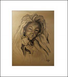 2020 Nr. 377 Mädchenporträt