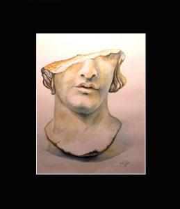 2020 Nr. 378 Skulptur – Fragment