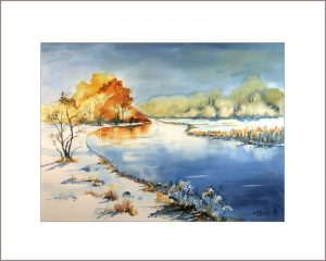 2021 Nr. 388 Winter am Fluss