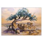 Alter Olivenbaum – 20 x 30 cm (Nr 243 )