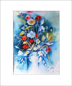 Blumenstraus – 40 x50 cm( Nr. 101)