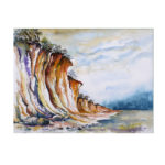 Die Ostseesteilküste – 40 x50 cm  (Nr. 88)