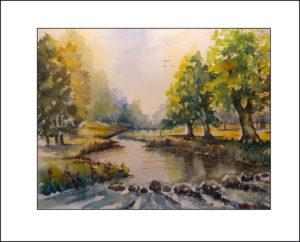 Im Park Bad Muskau- 40 x50cm, (Nr. 228)