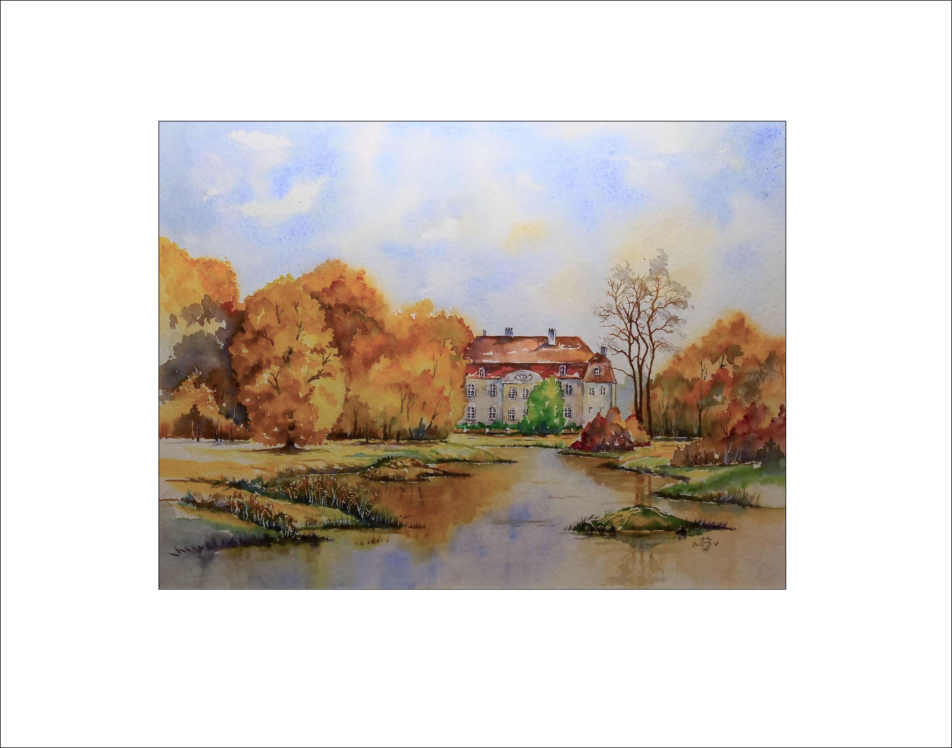 Im Schloßpark Branitz – 40 x 50 cm Nr. 187
