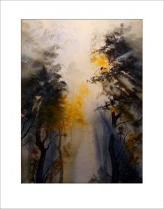 Morgenzauber im Wald -40 x50 cm (Nr. 189)