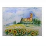 Sommer in der Toskana – 40 x 50cm  (Nr.23)