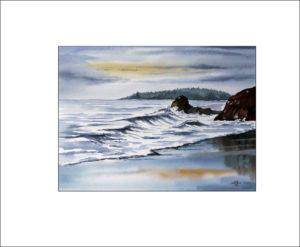 Am Strand – 30 x 40 cm (Nr. 123)