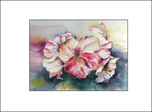 Azaleenblüte – 40 x 50 cm (Nr. 107)