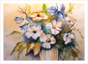 Cosmea mit Glockenblume (Nr. 245)