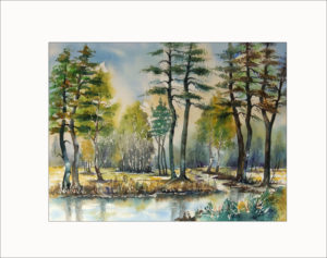 Frühlingserwachen im Spreewald- 40 x 50 cm ( Nr. 223)