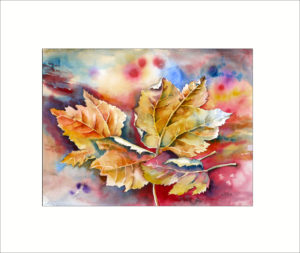 Herbstfarben  – 40 x 50 cm (Nr. 99)