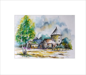 Holländermühle in Sielow – 40 x 50 cm (Nr. 82)