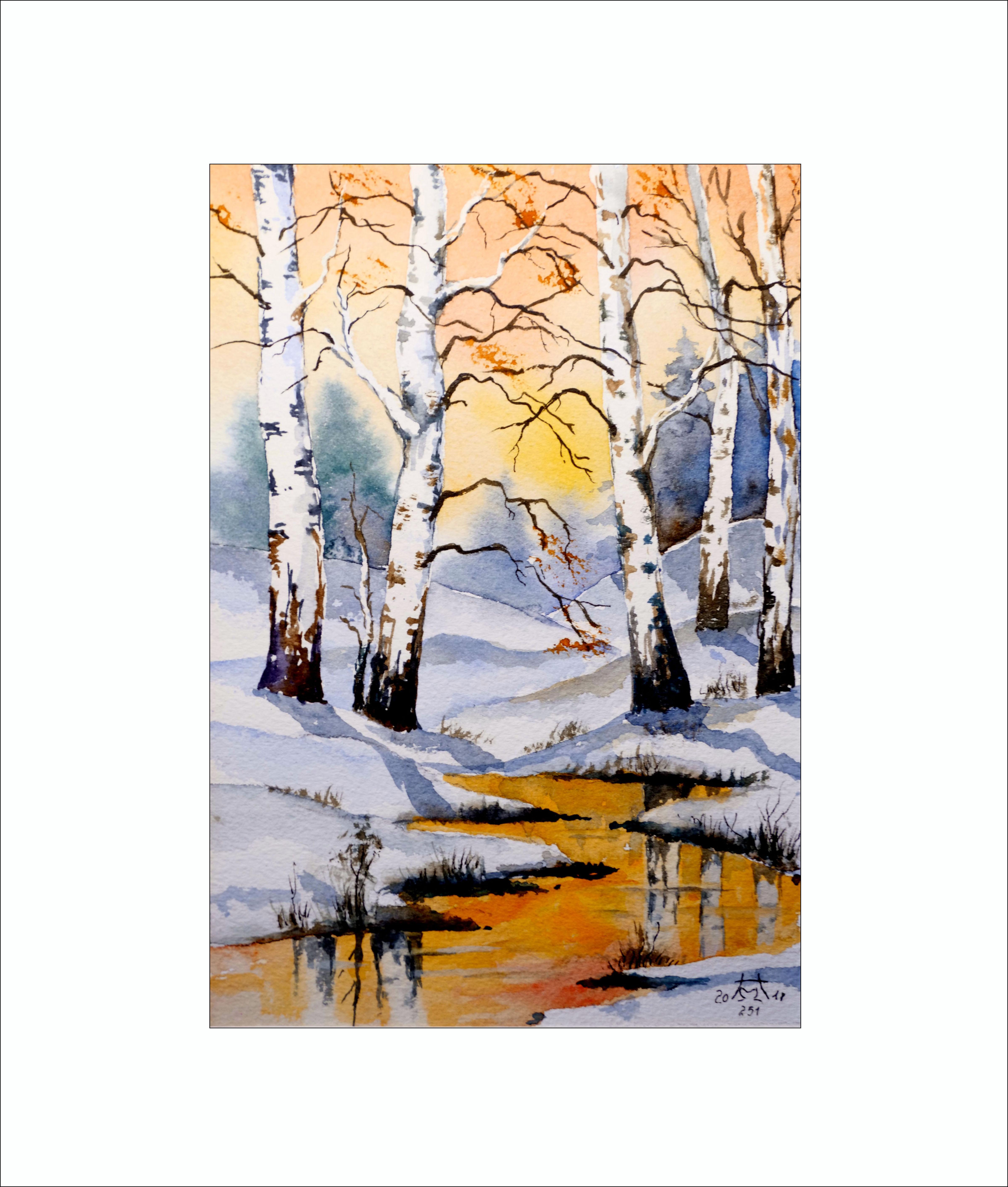 Winter (3) – 20x 30  cm (Nr. 251)