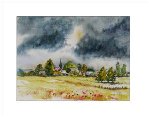 nach dem Regen – 40 x 50 cm (Nr. 144)