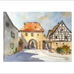 fränkische-Impressionen 40 x 50 cm Nr. 285