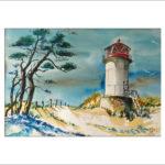 Leuchtturm an der Ostsee  40 x 50 cm  Nr. 288