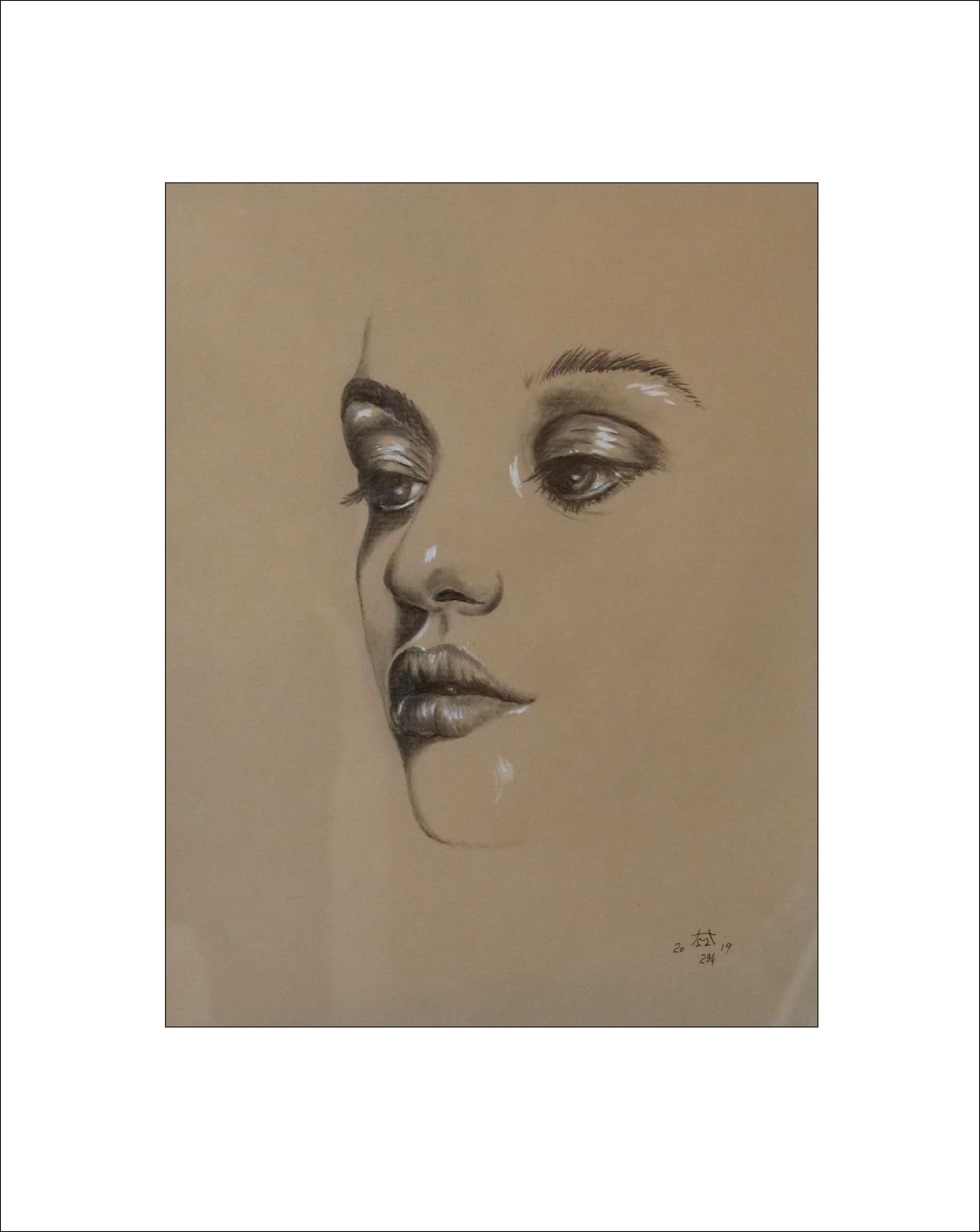 """""""Nachdenklichkeit"""" 40 x 50 cm , Nr.294"""