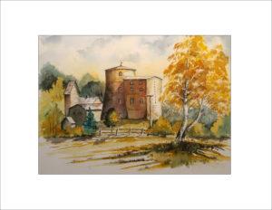2019 Nr. 317 Herbst an der Mühle in Turnow